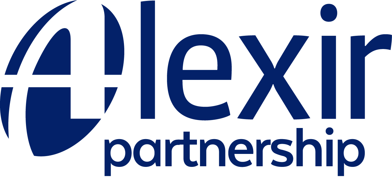 The logo for the Alexir partnership