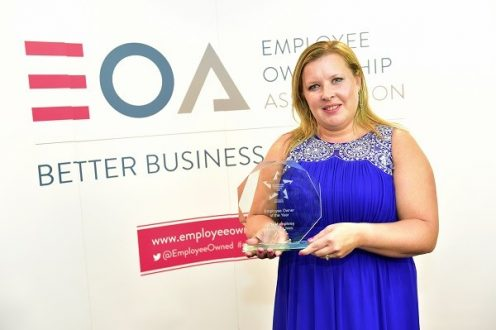 Lucy Humphrey Employee Owner of the Year