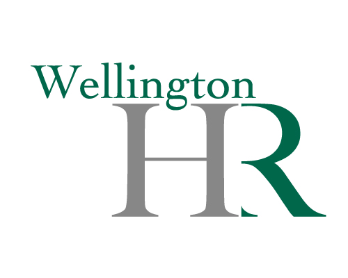 The logo for Wellington HR