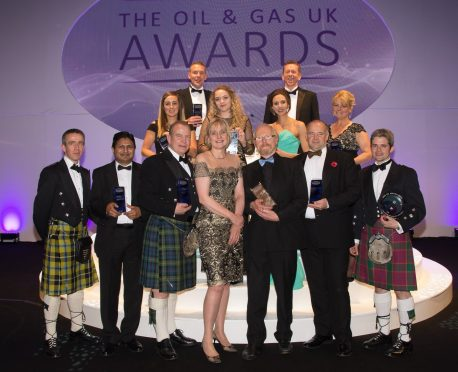 Merlin Energy at the Oil and Gas Awards