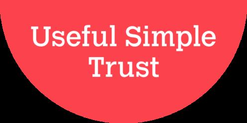 useful simple trust logo