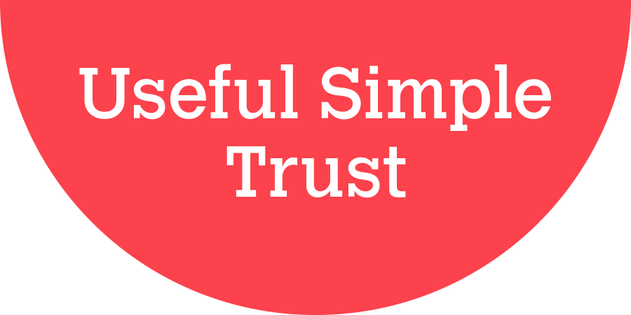 useful simple trust logo